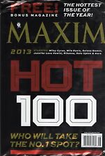 12 Maxim Magazine April 2013 to April 2014 Lot.
