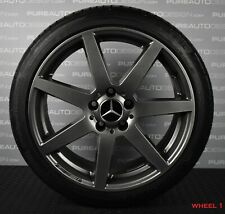 """Genuine 18"""" Mercedes AMG  C Class W204 Alloy Wheels Continental Tyres 5x112 FOUR"""
