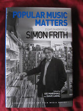 Popular Music Matters by Lee Marshall Hardcover Book (English) rock criticism