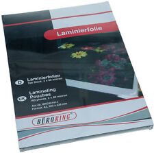 Laminierfolie DIN A3 80mic micron 100 Stück Maße: 303 x 426 mm Hochglanz NEU+OVP