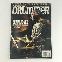 Modern Drummer Magazine October 2004 A Drummer Supreme Elvin Jones 1927-2004