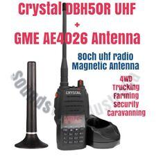 Crystal DBH50R UHF CB Handheld Radio