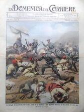 La Domenica del Corriere 6 Ottobre 1912 Libia Battaglia Derna San Gennaro Frida