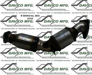 Catalytic Converter-Exact-Fit - Manifold Left Davico Exc CA 17115