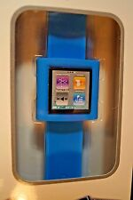NEW AXION WRISTWATCH SLAP ON BAND FOR IPOD NANO 6TH GENERATION BLUE AN-1113