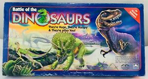 1993 Battle of the Dinosaurs Game by Golden Brand New Sealed FREE SHIPPING