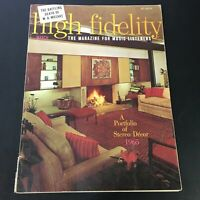 VTG High Fidelity Music Magazine March 1965 - Stereo Decor 1965 Portfolio