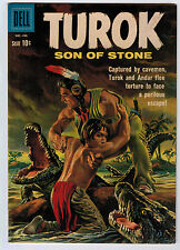 TUROK SON OF STONE #22 6.0 OFF-WHITE PAGES SILVER AGE