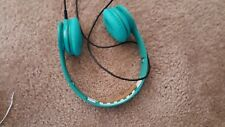 Beats by Dr. Dre Solo HD Headband Headphones - Teal green-Missing top cover.