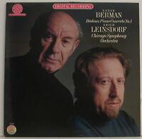 "Brahms Piano Concerto NO.1 Lazar Berman Chicago Erich Leinsdorf 12 "" LP (g888)"