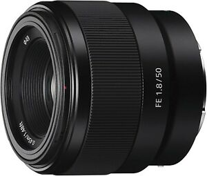 Sony 50 mm F/1.8 E for Sony E mount SEL50F18F - Black