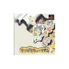 USED PS1 Rakugaki Showtime Japan Import