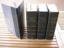 LA BRUYERE  : OEUVRES 3 tomes + 1 album Hachette 1865-1882