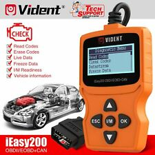 USA Vident iEasy200 OBD2 Fault Code Reader Check Engine Light OBDII Scan Tool