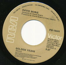 DAVID BOWIE 45 TOURS CANADA GOLDEN YEARS