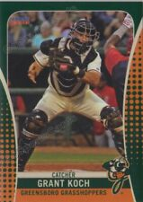 2019 Greensboro Grasshoppers Grant Koch RC Rookie Pittsburgh Pirates