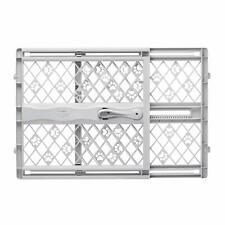 New Portable Barrier Plastic Expandable Pressure Mount Safety Gate For Pet Puppy