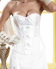 SALE 70% OFF!! Womens Bridal Wedding White Corset Classic Bustie Size 8