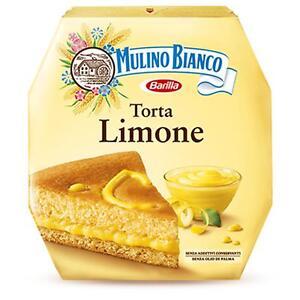 Cake Mulino Bianco Cake Lemon 640 Gr with Cream Lemon Pan of Spain