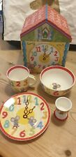 Churchill - Little Rhymes Series - Hickory Dickory Dock - Child's Breakfast Set