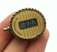 Vintage Elektronika 62 Ladies Necklace Quartz Watch Retro Women LCD Display Rare