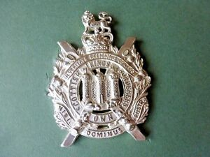 KOSB for warrant officers in silver plate (mainly frosted)