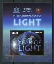 Guyana 2015 MNH UNESCO United Nations International Year of Light 1v S/S Stamps