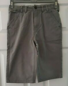 boys grey shorts age 11