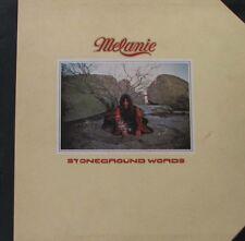 MELANIE Stoneground Words LP