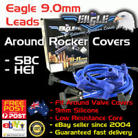 Eagle 9mm Ignition Spark Plug Leads SB Chev 350 HEI Around Rocker Covers