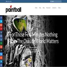 """Completamente alimentato dropshipping paintballing sito Web Store. """" 300 colpisce un giorno"""""""