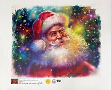 Tom duBois Signed L/ED Giclee on Canvas International Galleries SANTA CLAUS