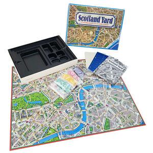 Scotland Yard Retro Vintage Family Board Game 1983 Ravensburger Detective Chase