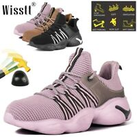 Steel Toe Shoes for Womens Safety Shoes Indestructible Slip Resistant Work Shoes
