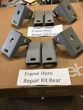 Early Bronco Frame Horn Repair Kit 66-77  (Front and Rear) Ford 3/16 Steel New
