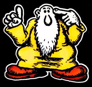 Mr. Natural Vinyl Sticker Decal Hippie Gypsy Rock n Roll Grateful Dead Yeti Cup