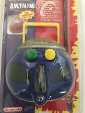 Super MARIO 64 Nintendo Vintage AM/FM RADIO 1997 Blinking Lights w/Package Works