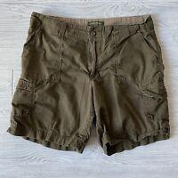 Eddie bauer Organic Cotton cargo Shorts Womens Size 12