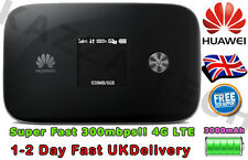 HUAWEI E5786 UNLOCKED BLACK LTE 4G Cat6 Mobile MIFI WIFI Wireless Modem SimFree