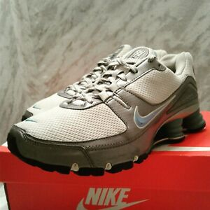 Nike Womens Shox Turbo 5 V grey university blue oxide metallilc silver 7.5