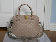New Auth Marc Jacobs $1350 Whitney Quilted Leather Satchel Tote Bag Handbag