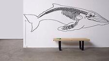 Wall Room Decor Art Vinyl Sticker Mural Decal Animal Big Fish Whale Sea DA005