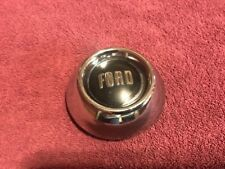53 FORD MAINLINE COUPE STEERING WHEEL HORN BUTTON ORIGINAL USED OE FORD