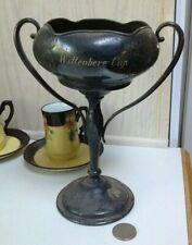 Vintage 1940's Quadruple Silver Plate WITTENBERG CUP GOLF TROPHY