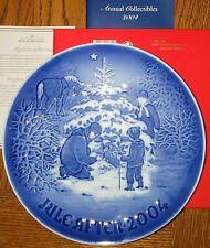 New Listing2004 Bing & Grondahl B&G Christmas Plate The Christmas Tree Nib Mint