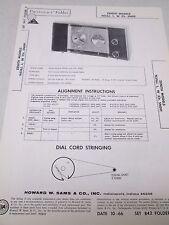 Zenith Collectible Radio Manuals For Sale Ebay. Sams Photofact Folder Radio Parts Manual Zenith Models N516j L W Ch 5n09. Wiring. Zenith 5g03 Wiring Diagram At Scoala.co