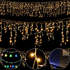 Guirlande lumineuse Filet Rideau lumineux 200/400/600 LED 8 Fonctions Eclairage