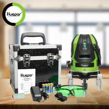 Huepar Self-leveling Laser Level with Four Vertical & One Horizontal Lines Tool