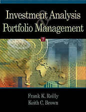 Investment Analysis and Portfolio Management by Reilly, Frank K., Brown, Keith