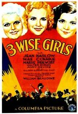Three Wise Girls - 1932 - Jean Harlow Andy Devine William Beaudine b/w Film DVD